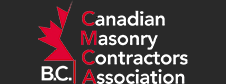 Canadian Masonry Contractors Of BC Association Logo | Cronus Masonry Contracting Ltd.