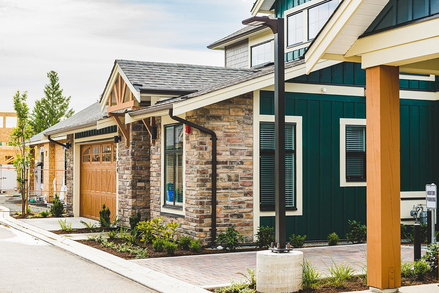 Denby Front - Residential Masonry Experts   Cronus Masonry Contracting Ltd.